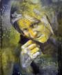 Акварельный портрет. Бабушка.