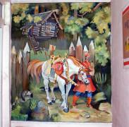 Роспись стен художником